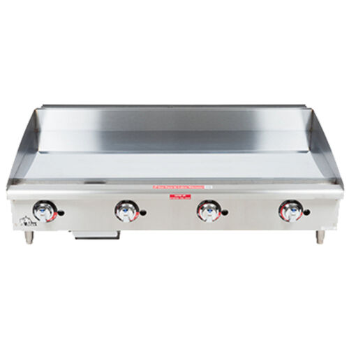 "Star 648tchsf 48"" Heavy Duty Gas Countertop Griddle"