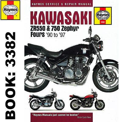 Kawasaki ZR550 ZR750 Zephyr Fours 1990-97 Haynes Workshop Manual