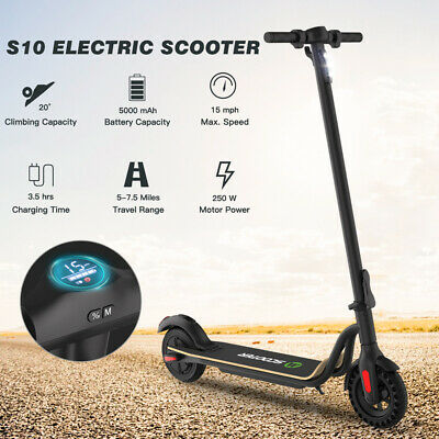 Megawheels S10 5.0AH Foldable E-Scooter Teen Adult Kick Electric Scooter 15Mph