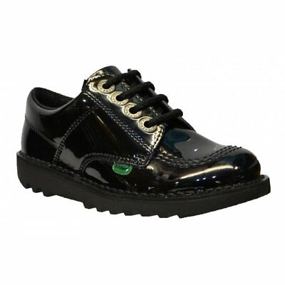 Kickers Girls Tovni Lo Bow School Shoes