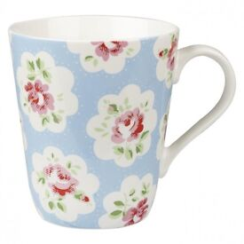 Cath Kidston Provence Rose Stanley Mug, New
