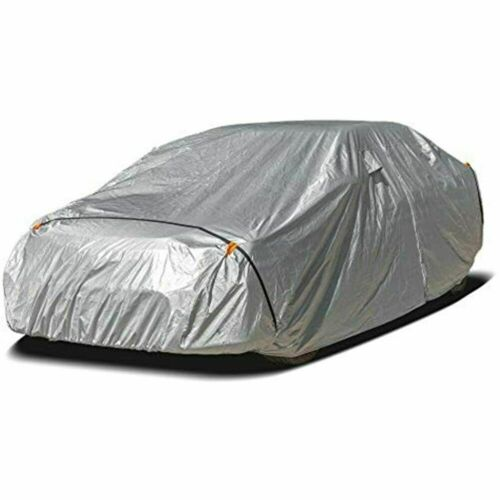 Urhgart Full Car Cover Sedan All Weather Outdoor Waterproof Snow Rain Uv Sun