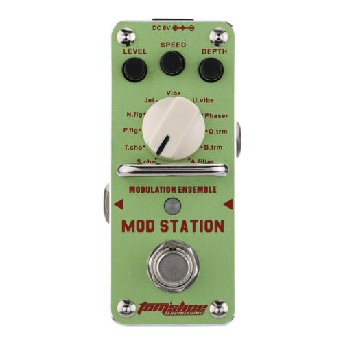 AROMA AMS-3 Mod Station Modulation Ensemble Electric Guitar Effect Pedal