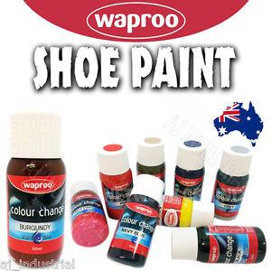 waproo colour change shoe paint re colouring leather