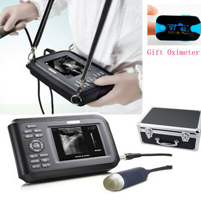 Portable Ultrasound Scanner Machine Handscan Animal Veterinary Spo2case Pet Us