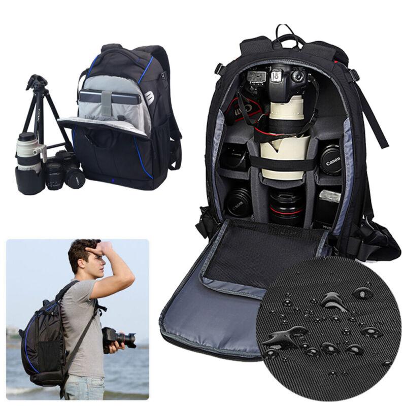 Kamerarucksack Fototasche Fotorucksack SLR DSLR mit Stativhalterung Regenschutz