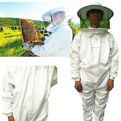 Xxl Beekeeper Protect Bee Jacket Keeping Suit Safty Veil Hat Body Set Full Body
