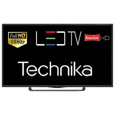 "Technika 32F22B/FHD 32"" Slim LED TV Full HD 1080p With Freeview HD HDMI USB"