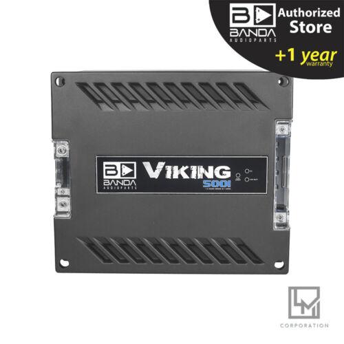 Banda Viking 5001 Amplifier 5000w 1 Channel Banda audioparts 1 Ohm Car Audio