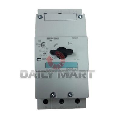 New Siemens 3rv1041-4ja10 Motor Starter Protectors W Class 10 Circuit Breaker