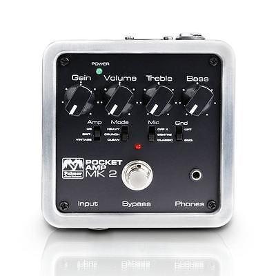 New Palmer MK II Pocket Amp Guitar Effect Pedal Amplifier Simulator Free String