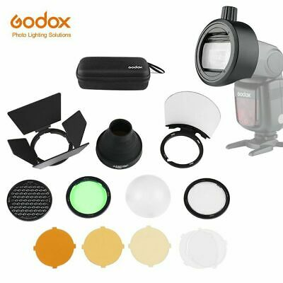Ring Flash Head (Godox S-R1 Flash Speedlight Adapter AK-R1 Adapter Ring fr H200R Flash Head AD200)
