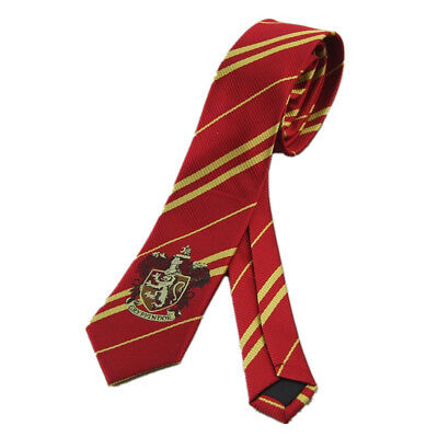 Harry Potter Gryffindor Tie Cravat Ascot Dress With Logo Necktie Halloween Gift