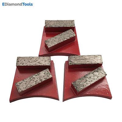 Concrete Grinding Discs For Fast Change Grinders 1820 Grit Medium Bond 3 Pcs