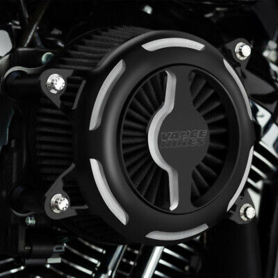 Vance & Hines Black V02 Blade Air Cleaner Filter Intake Harley Touring 17+ M8 OB
