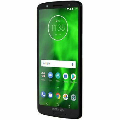 Android Phone - Motorola XT1925-6 Moto G6 32GB Unlocked Smartphone, Black
