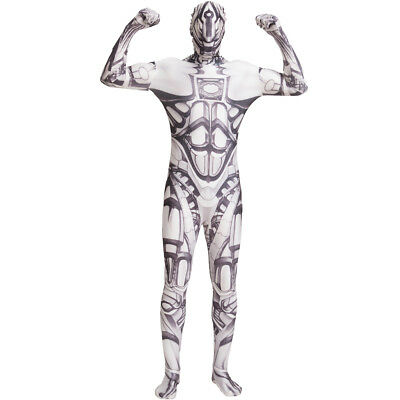 Men RoboCop Cosplay Costumes Full Body Zentai Bodysuits Halloween Suits for Kids