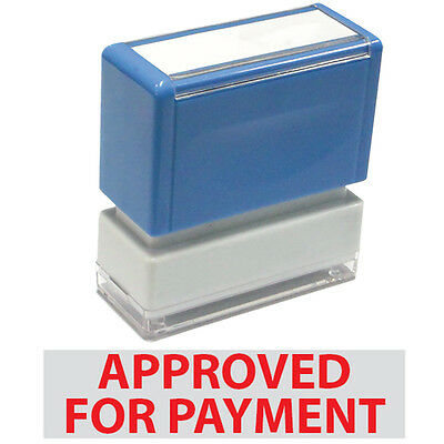 Jyp Pa1040 Pre-inked Rubber Stamp With Approved For Payment