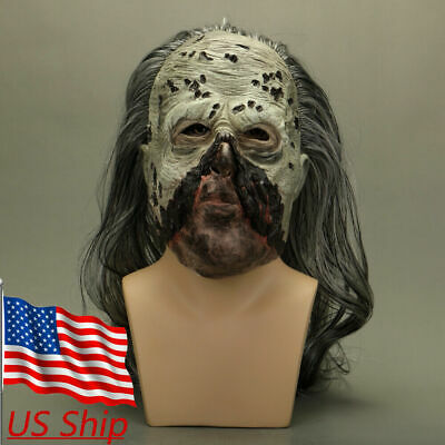 Cosplay The Walking Dead Whisperers Beta Mask Zombie Mask Halloween Scary Props