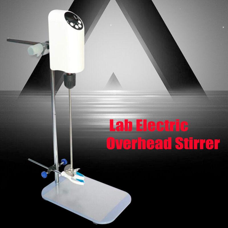40L Lab Electric Overhead Stirrer Mixer Agitator Homogenizer Speed Adjustable