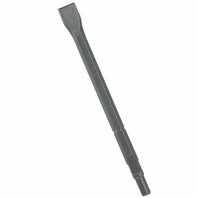 Bosch Flat Chisel - Bosch Round Hex & Spline Hammer Steel 12 in. Flat Chisel HS1811 New