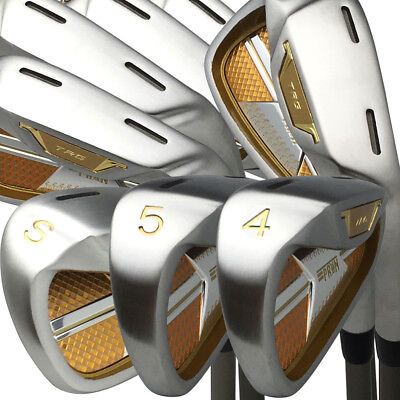 New Japan Epron Gold Mx Steel 456789ps Chrome Finish Graphite Iron Golf Club Set
