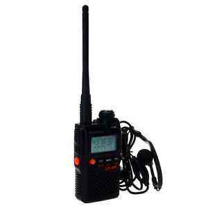 BAOFENG UV3R Handfunkgerät Walkie Talkie VHF136-174MHz&UHF400-470MHz Dualband