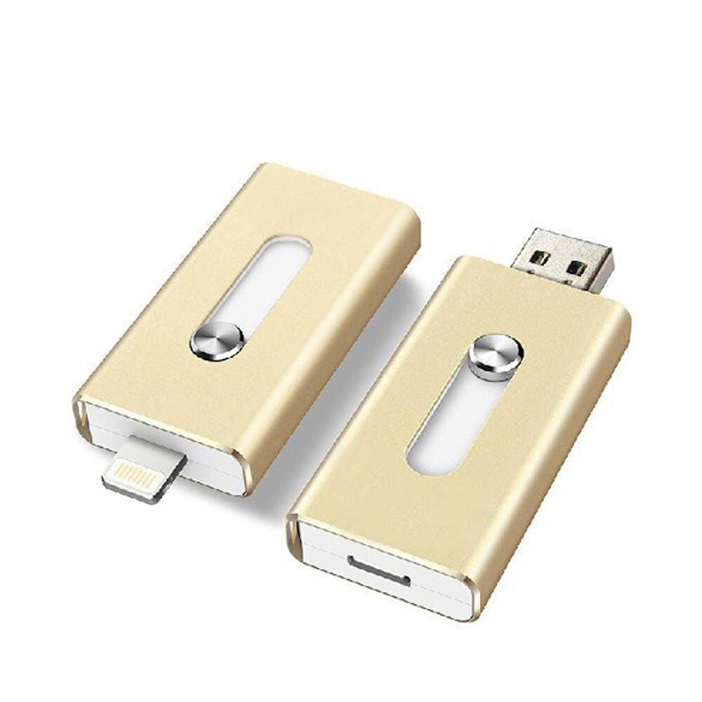 OTG USB Memory Stick Flash Drive for iPhone iPad Android ...