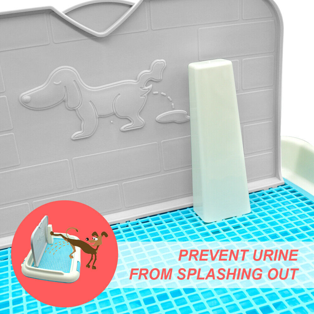 Indoor Dogs Cat Pee Pad Tray Toilet For Small Pet Dog Cat