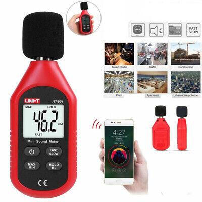 Digital Sound Pressure Level Decibel Noise Meter Tester Measurement 30130db Lcd