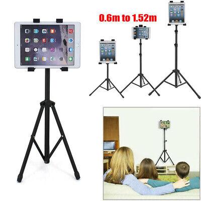 "Floor Mount Tripod Stand Bracket For iPad 1 2 3 7""-13"" Tablet Height Adjustable"