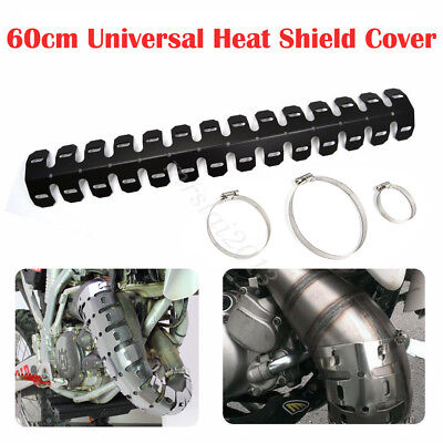 MOTORCYCLE EXHAUST MUFFLER PIPE LEG PROTECTOR HEAT SHIELD COVER FOR HO