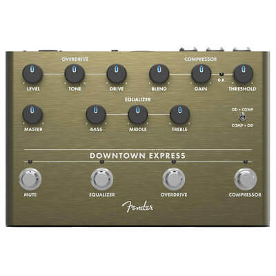 Fender Downtown Express Bass Station Multi Effects Pedal