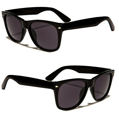 NEW KIDS TODDLER BOYS GIRLS BLACK VINTAGE CLASSIC RETRO SUNGLASSES SHADES ()