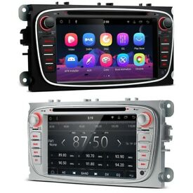 Ford Focus Connect Fiesta 7 inch Android HD Screen WiFi GPS Bluetooth Radio DVD USB SD Aux Stereo
