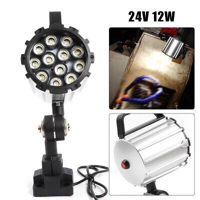 Aluminium Alloy Screw Mounting Work light LED For CNC Lathe Milling Machine USA