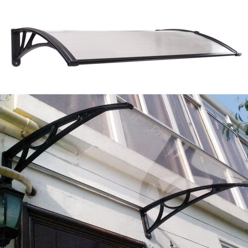 Door Canopy Awning Rain Shelter Front Back Porch Outdoor