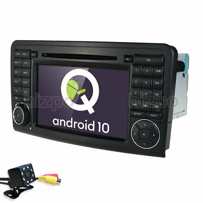 "7"" Autoradio DVD GPS Bluetooth+Kamera für Mercedes Benz X164 W164 ML GL Navi"