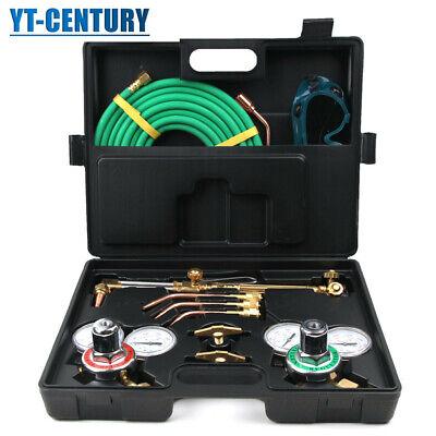 Portable Professional Welding Kit Oxy Acetylene Oxygen Torch Cutting Set Us