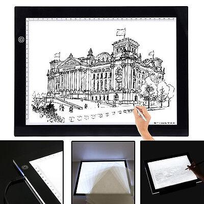 A3 LED Tracing Light Box Drawing Tattoo Board Pad Table Stencil Display Artist