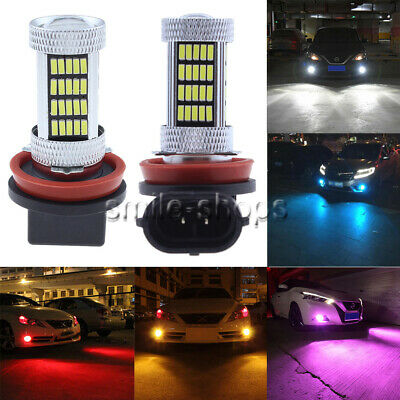NEW 2x 4014 92SMD LED Fog Lights Bulbs Super Bright PLUG N PLAY 9005 9006