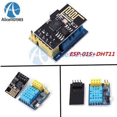 Esp8266 Esp-01s Wifi Wireless Module Dht11 Temperaturehumidity Shield Sensor