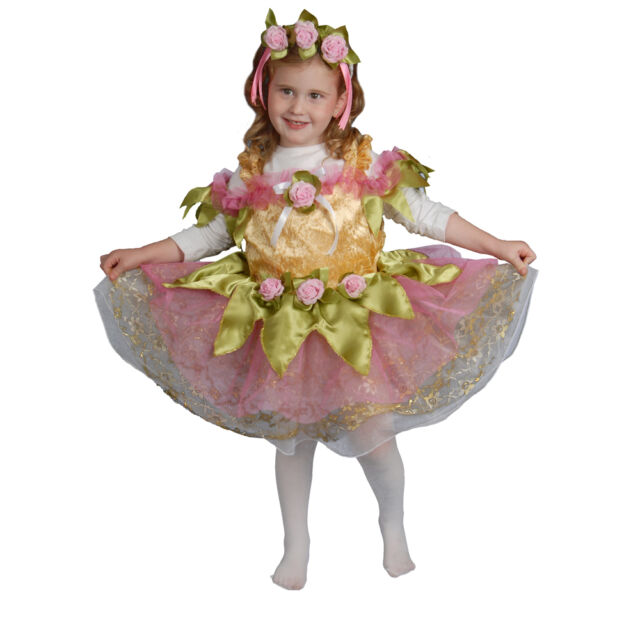 Dress up America Little Girl Ballerina Costume For Childern