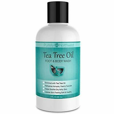 Antifungal Tea Tree Oil Body Wash, Helps Athletes Foot, Ring