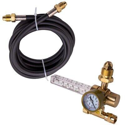 Argon Co2 Mig Tig Flow Meter Regulator Welding Flowmeter 4000psi W Hose