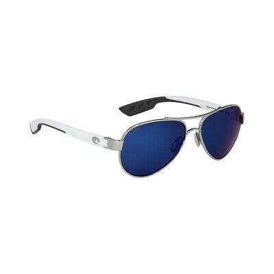 Costa Loreto Metal Frame Blue Mirror Lens Unisex Sunglasses LR21OBMP**Open Box**