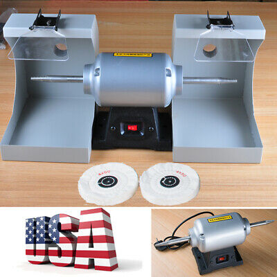 Portable Dental Lab Equipment Burnishing Polishing Lathe Machine