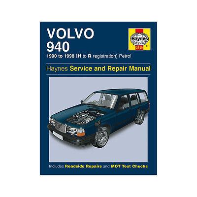 Volvo 940 2.0 2.3 Petrol 1990-98 (H to R Reg) Haynes Manual