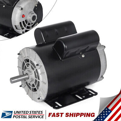 3 Hp 1 Phase 3450rpm Electric Air Compressor Duty Motor 56 Frame 58 Shaft