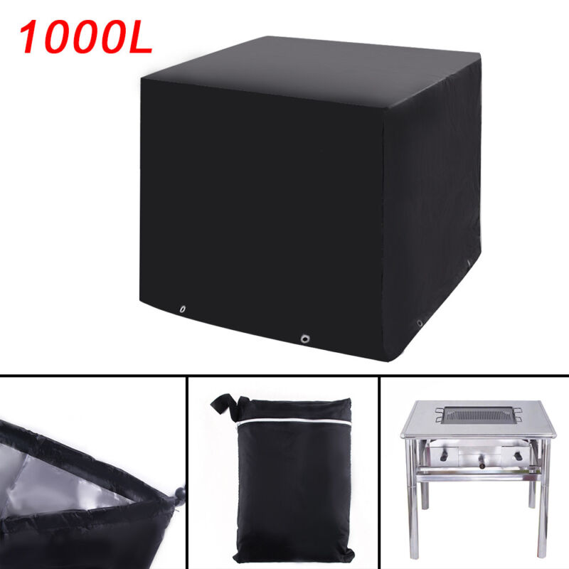 abdeckplane schutzh lle schutzplane cover ibc beh lter regen wasser tank 1000l ebay. Black Bedroom Furniture Sets. Home Design Ideas